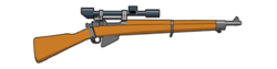 Lee Enfield Sniper Rifle.png